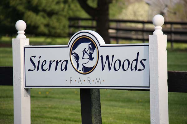 The Sierra Woods Farm is located in near Zionsville, Indiana.